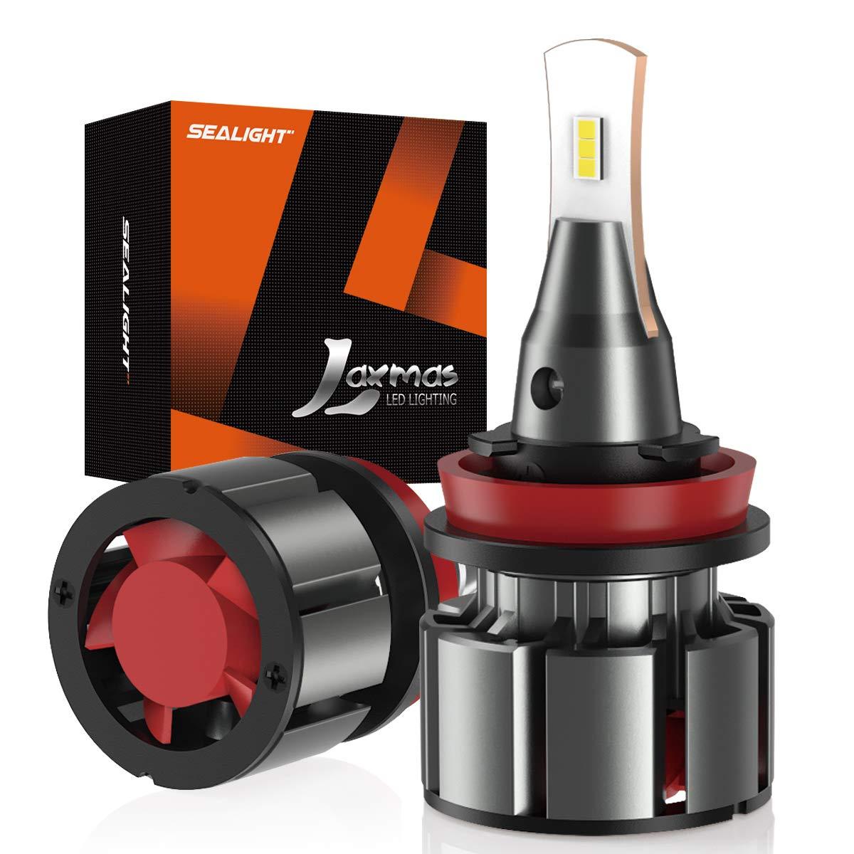 SEALIGHT Car Lights H7 LED Headlamp 15000LM 80W for Car led Headlight Bulb with 2pcs Resistor CSP Turbo LED Bulbs H1 Car Lamps