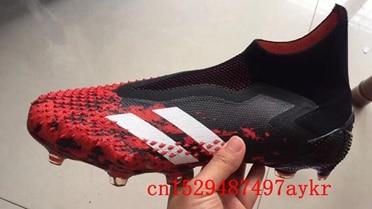 2020 mens high ankle soccer shoes SUperFlys FG soccer cleats football boots Tacos de futbol