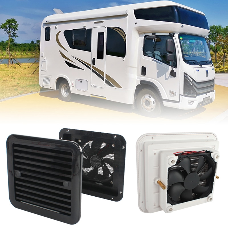 12V 4W Fridge Vent with Fan for RV Trailer Caravan Side Air  strong wind exhaust  Automobile Accessories Car Styling Camper enlarge