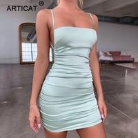 Атласное мини-платье Посмотреть