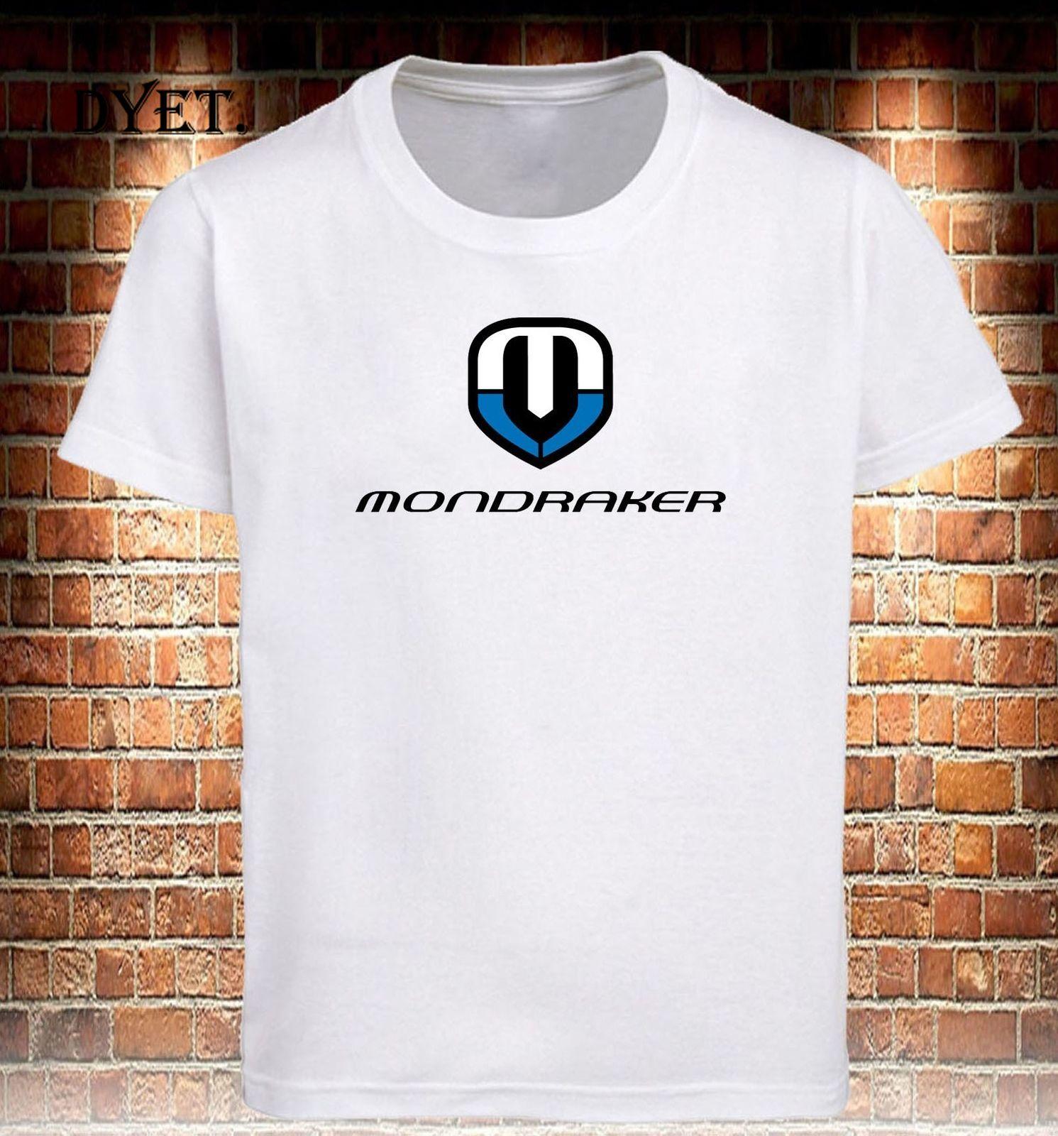 Camiseta de Mondraker Bikes para hombre, camisa de color negro, gris y...