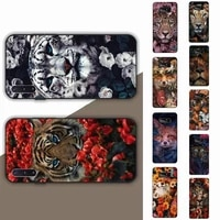 yinuoda animal flower fox lion tiger phone case for samsung note 5 7 8 9 10 20 pro plus lite ultra a21 12 72
