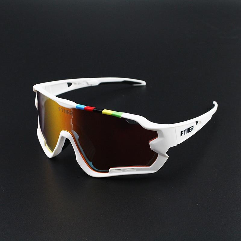 Sagan-Gafas de sol de Ciclismo para hombre y mujer, 4 lentes