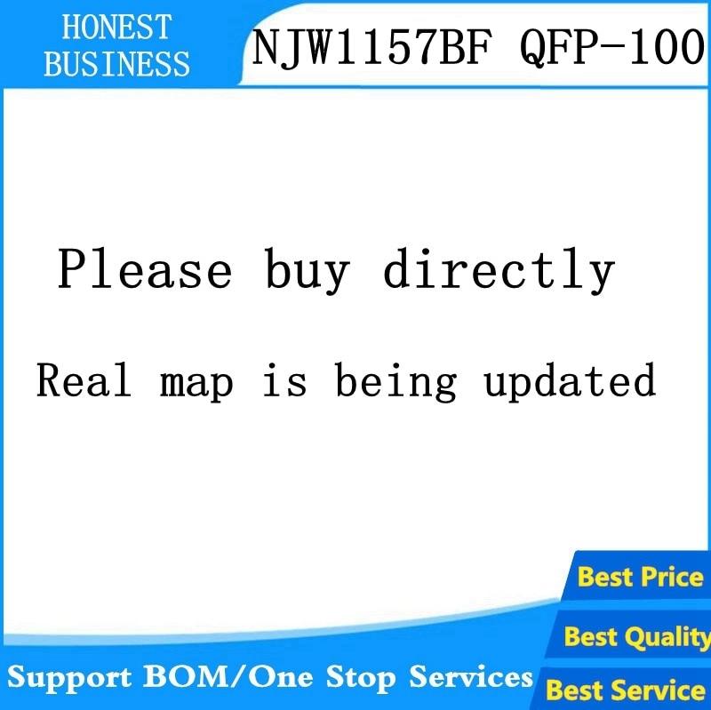 1 UDS-5 uds/lote NJW1157BF NJW1157 QFP-100 IC