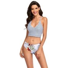 2021 maillot de bain Femmes Bikini Ensemble 2 Pièces Beachwear Costume De Maillots De Bain