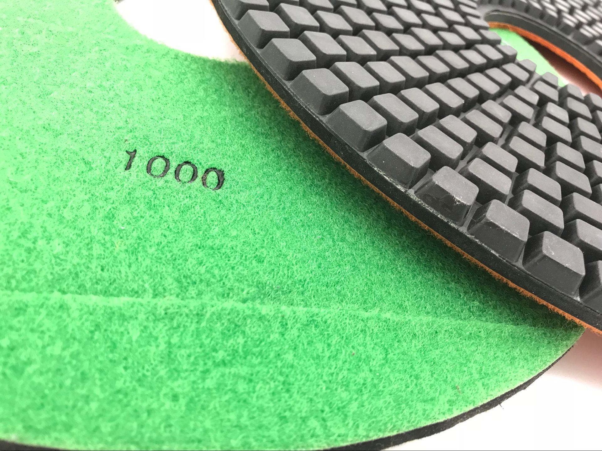 """8 """"pulgadas 200mm almohadillas de pulido de diamante para hormigón grantie mármol piedra suelo de reparación de vidrio de lijadora"""