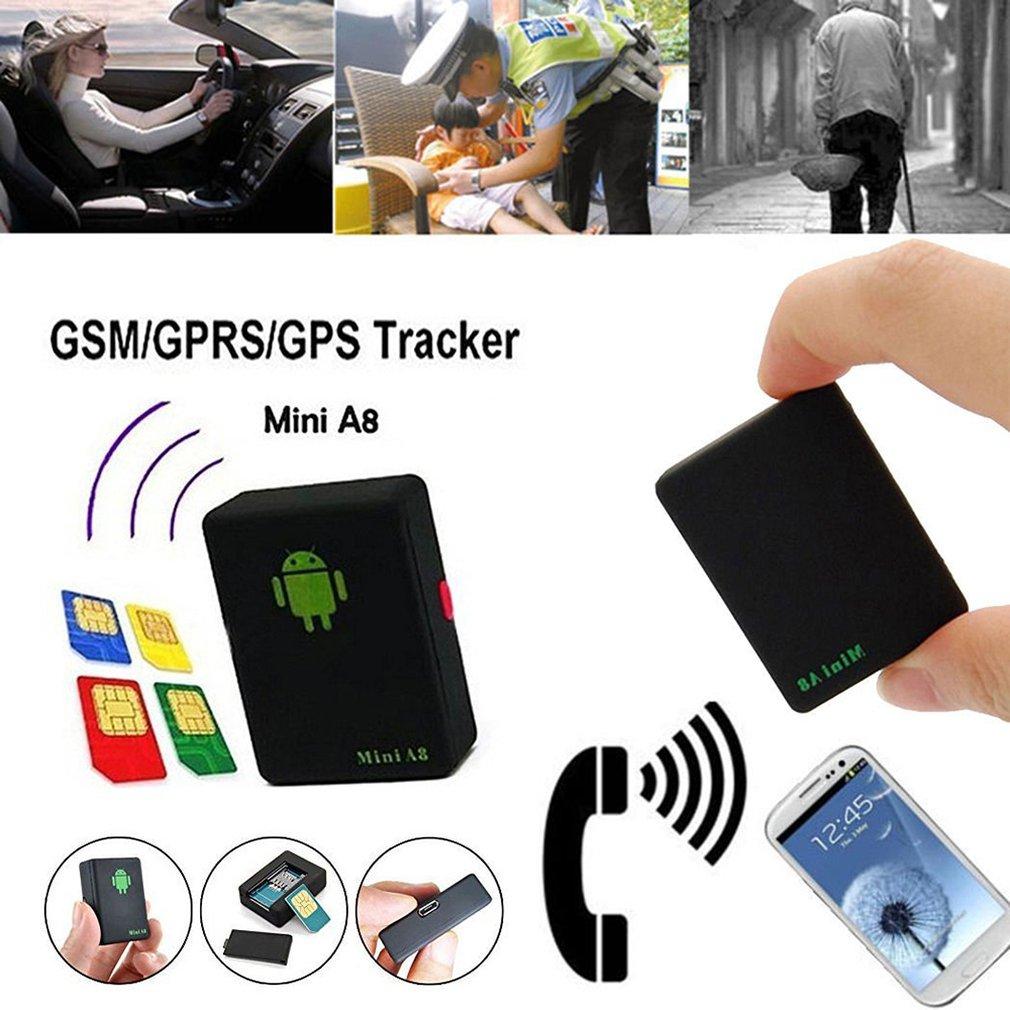 Mini A8 Gps Micro localizador de seguimiento de niños ancianos, coche antipérdida antirrobo Sos, coche antirrobo
