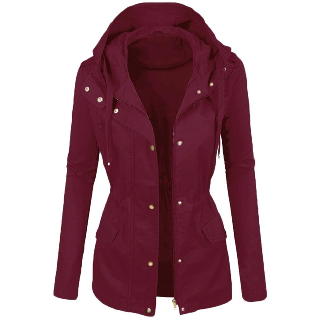 Moda casual color sólido solapas chaqueta de cuero de la motocicleta de las mujeres de invierno de Color liso corto Lapel Motor ropa de ciclo
