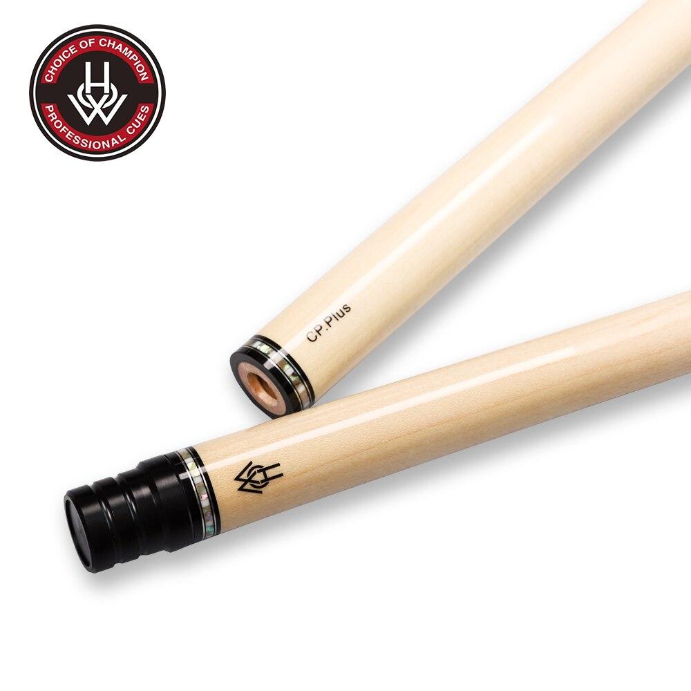 Cómo eje de Billar CP Plus, eje de madera maciza de Arce, Punta Profesional de 13mm, gran calidad, Kit de palo de Billar
