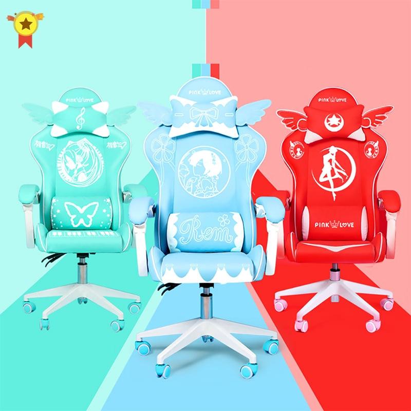 Silla rosa para juegos, asiento del juego de la niña, silla de...