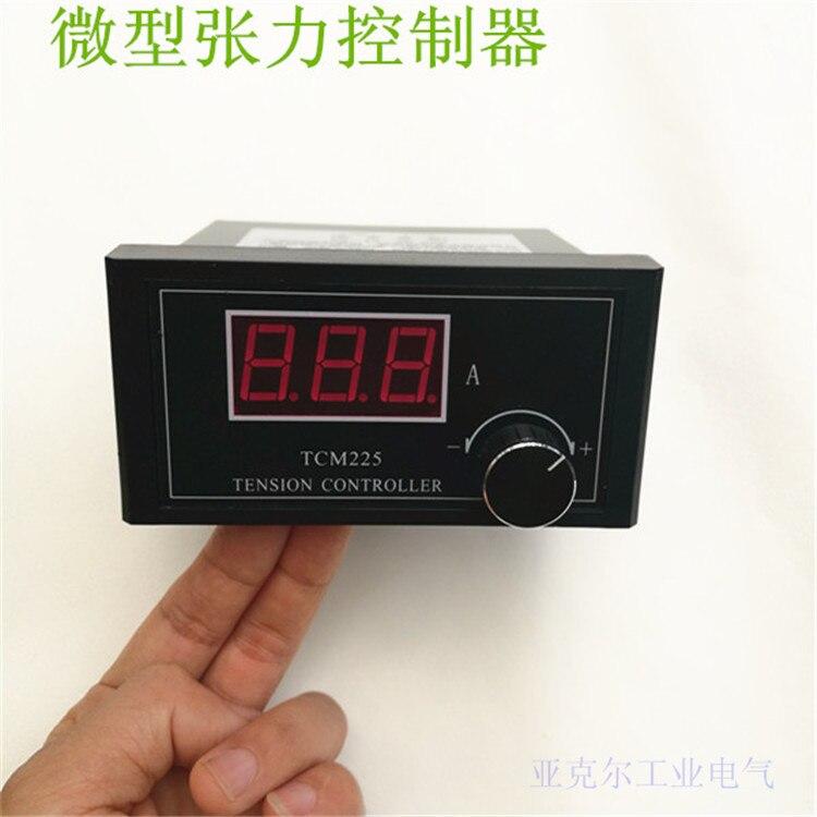 Controlador de Tensão Magnético em pó Regulador de Tensão Miniatura Controlador Manual Freio Embreagem Mini Tcm225