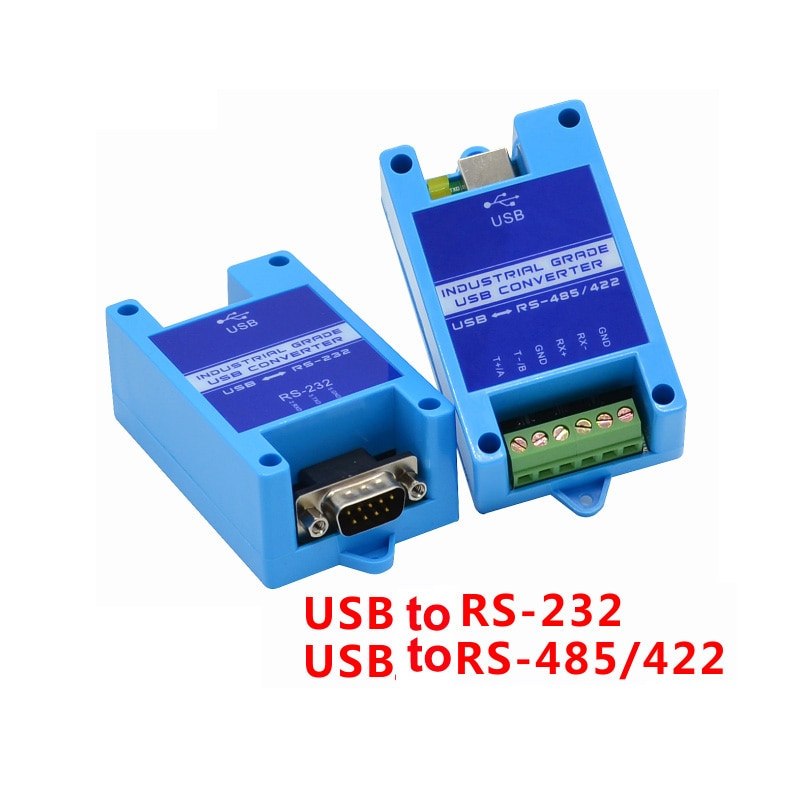 USB to 232 485 422 industrial serial converter 2 port RS485 to USB lightning protection WIN7 / 8/10