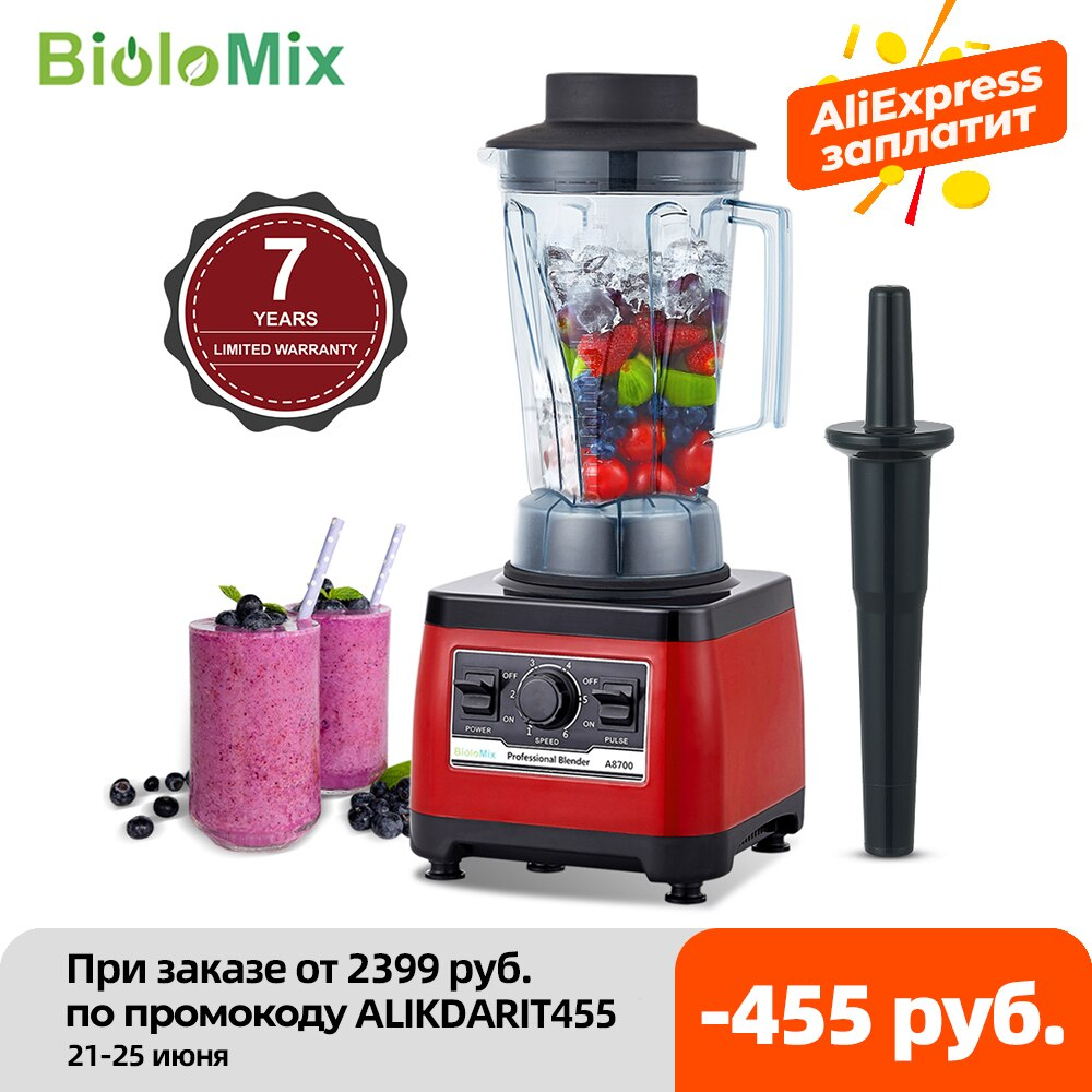 AliExpress - 【7 Years Warranty】BPA Free Heavy Duty Commercial Grade Blender Professional Mixer Juicer Ice Smoothies Peak 2200W