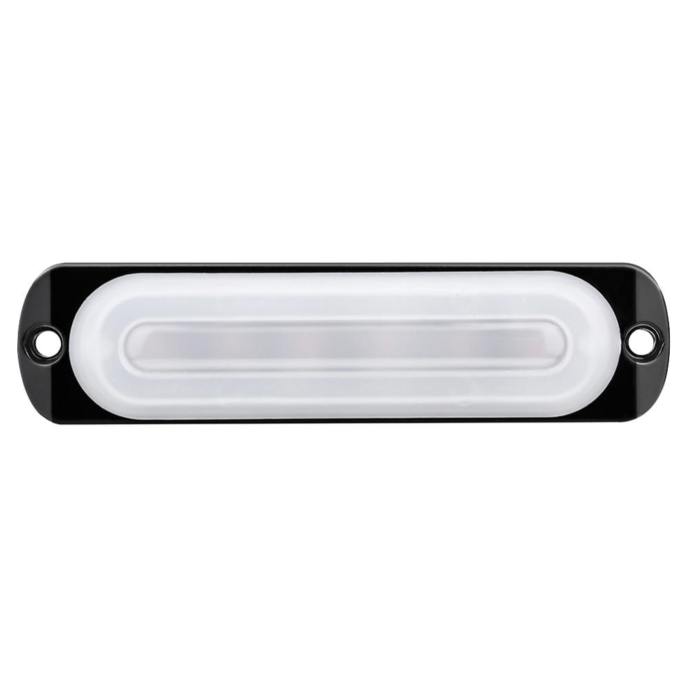 Barra de luces LED de trabajo de inundación de 12V, faro antiniebla 4WD para conducción de coches fuera de carretera, luces de circulación diurna anticolisión blancas de 18W