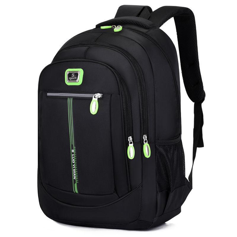 Мужской рюкзак из ткани Оксфорд, школьная сумка для колледжа для мальчиков-подростков, Повседневная Уличная дорожная сумка для ноутбука и компьютера   АлиЭкспресс
