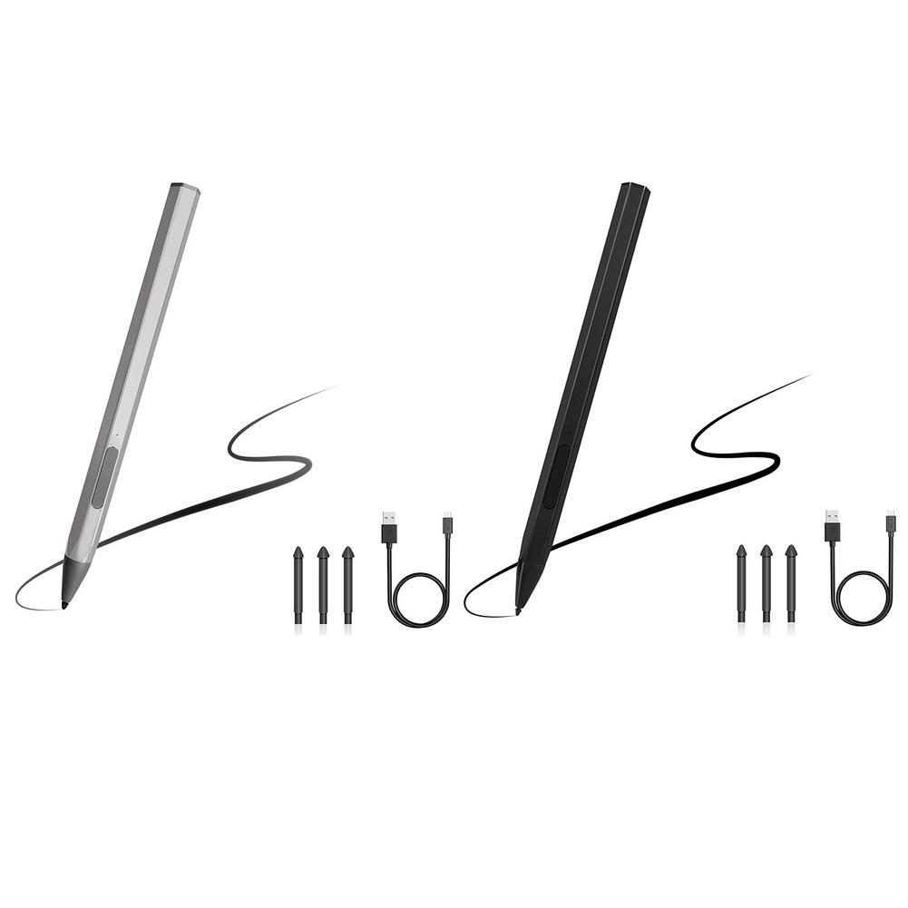 4096 مستوى القلم القلم قابلة للشحن لمايكروسوفت السطح برو 3 4 5 6 7 اللوحي لأجهزة الكمبيوتر المحمول ASUS HP مع المغناطيسي ، رفض النخيل