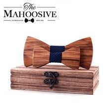 Nœud papillon en bois pour enfants   Classique, couleur bois zèbre, pour garçons et filles, tendance, animaux