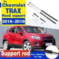 car engine hood cover support lift rod gas spring shock hydraulic rod strut bars for chevrolet trax 2016 2017 2018 car styling