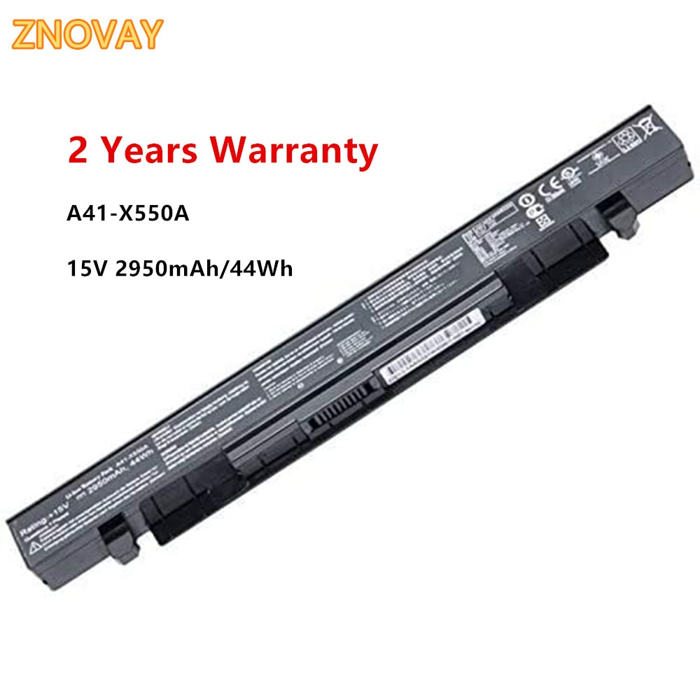 Фото - 15V 2950mAh 44Wh A41-X550A A41-X550 Laptop Battery Compatible with Asus A450 A550 F450 K450 K550 X450 X550 X550CA Notebook new original laptop replacement li ion battery for asus x450e a450v k550d x751l a41 x550e 15v 44wh