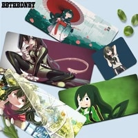 bbthbdnby my hero academia asui tsuyu new mouse durable desktop mousepad size for deak mat for overwatchcs goworld of warcraft