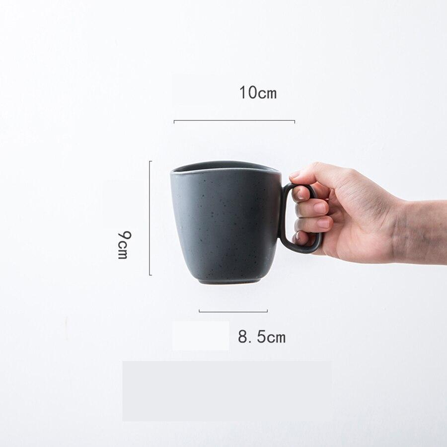Taza De cerámica grande para café, té, porcelana esmaltada, cerveza, divertida, para...