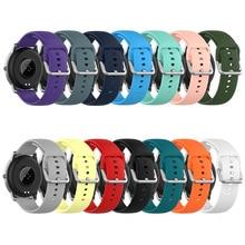 Bracelet en Silicone pour Samsung Galaxy Watch, 20mm, 22mm, 42m, 46mm, 3, 41mm, 45mm, Active 2, Gear S2, S3, GT 2
