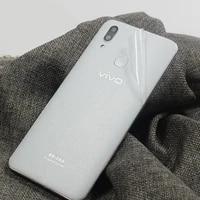 rear stickers wrap skin multi grain transparent decorative for vivo x21 mobile phone matte protector x21i back film protective