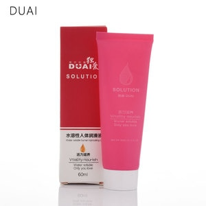 DUAI vitality nourish lubricant for sex 60ml anal sex Causative agent for woman gay, sex toys adult product body Oil for massage