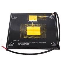 DC 24V plaque de lit chaud Durable bureau remplacement feuille accessoires de chaleur professionnel pratique imprimante 3D coordonnée pour Ender 3