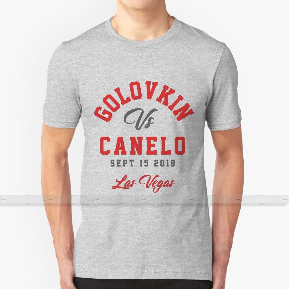 Ggg Vs Canelo-Camiseta de boxeo para hombres y mujeres, camisetas de algodón...