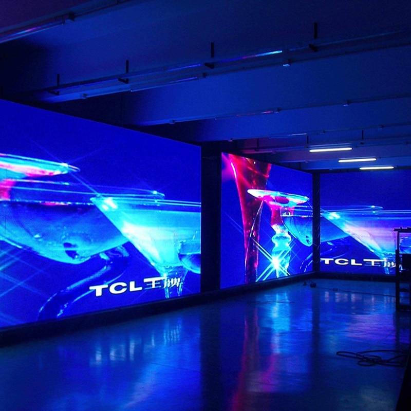 لوحة عرض led داخلية للاجتماعات ، استوديو تلفزيون ، كبير ، فيديو