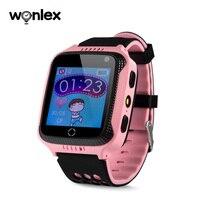 Умные часы Wonlex с GPS для детей, детские часы с камерой отслеживания местоположения GW500S, защита от потери