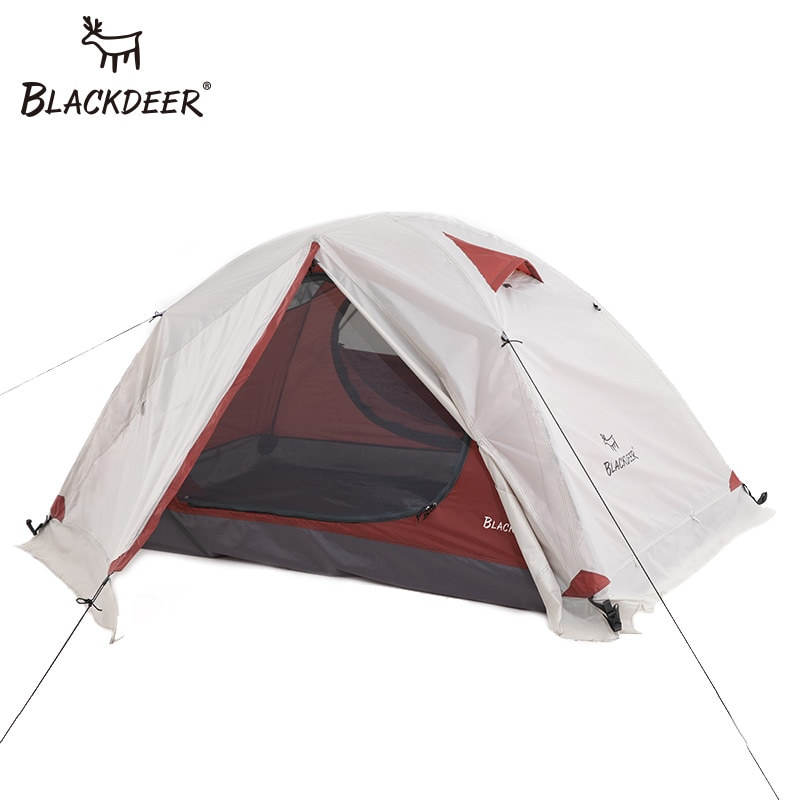 Blackdeer Archeos 2P Backpacking Tent Outdoor Camping 4 Season Tent With Snow Skirt Double Layer Waterproof Hiking Trekking Tent недорого