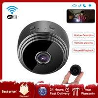 Мини-камера наружного видеонаблюдения A9, 1080p, Wi-Fi, беспроводная мини-камера для безопасности, с голосовым видеозаписывающим устройством