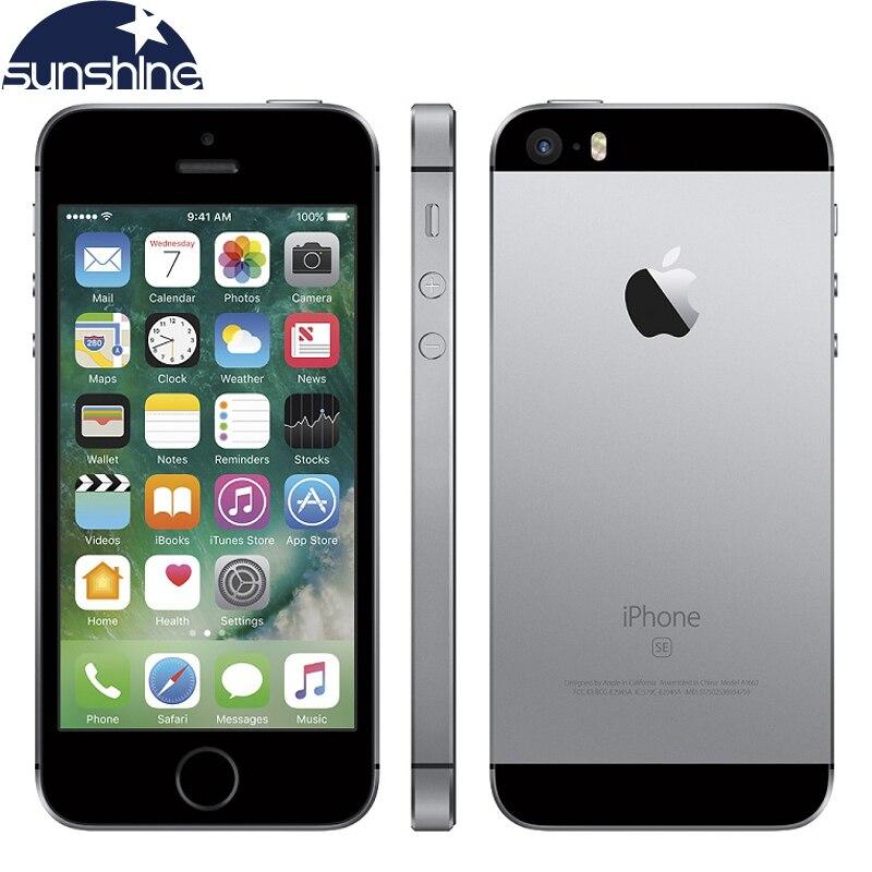 Unlocked Original Apple iPhone SE 4G LTE Mobile Phone iOS A9 Dual Core 2G RAM 16/64GB ROM 4.0
