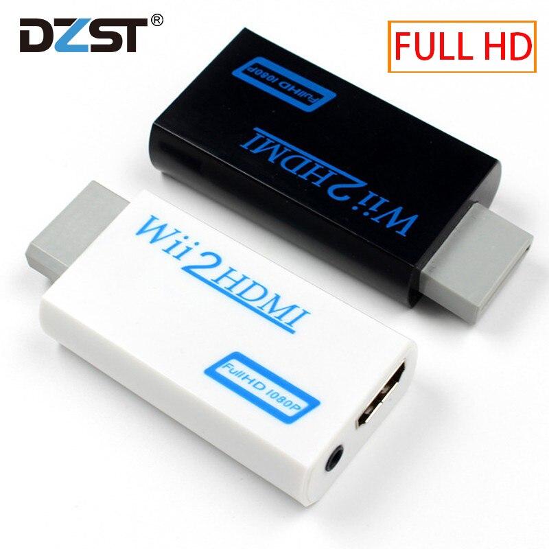 Для wii в HDMI конвертер wii 2HDMI с 3,5 мм аудио видео выход автоматический адаптер Upscaler Поддержка NTSC 480i PAL 576i 1080P