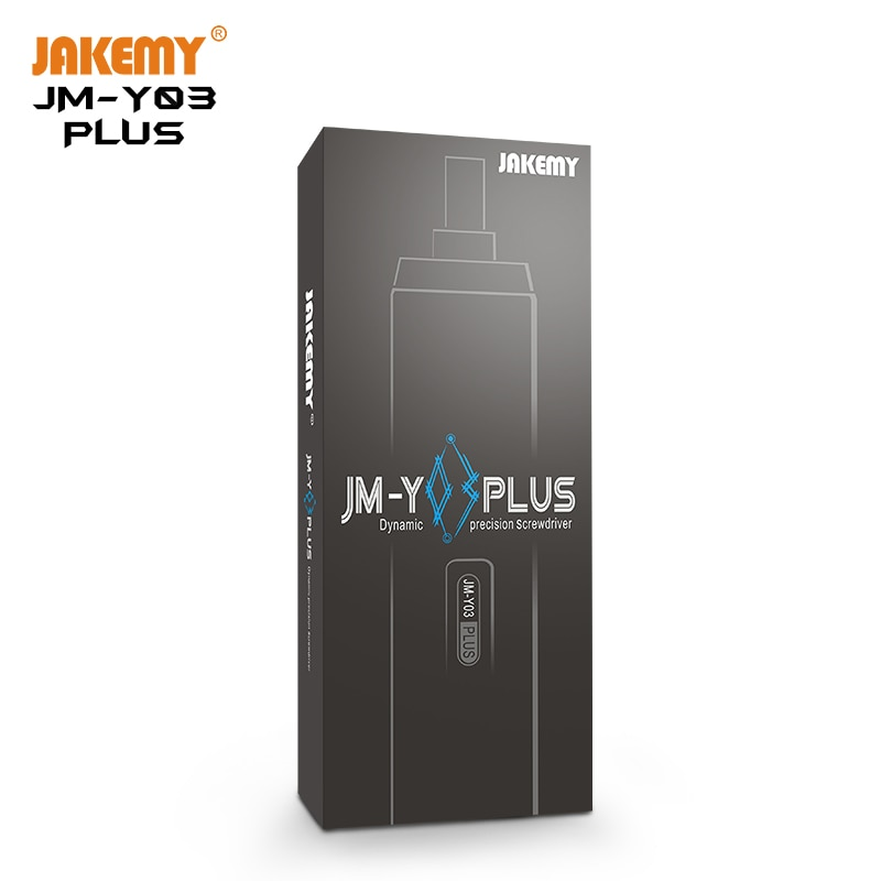 JAKEMY 2020 أحدث JM-Y03plus 43 في 1 المنزلية المحمولة صغيرة لاسلكية الدقة القابلة لإعادة الشحن مفك كهربائي مجموعة مع LED