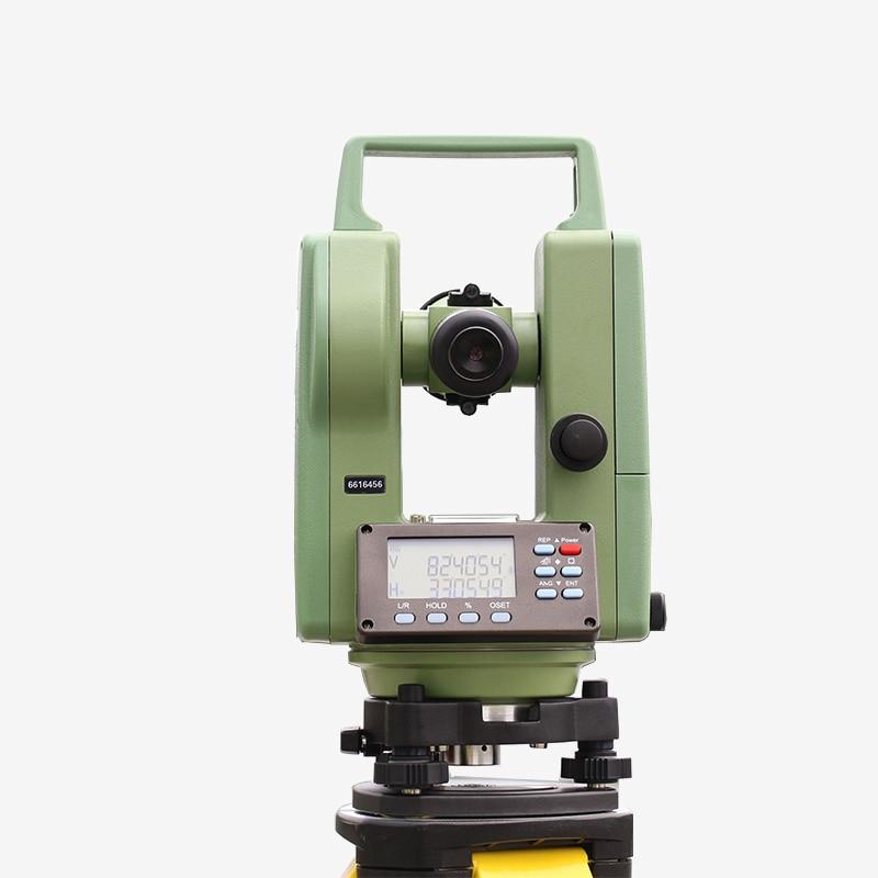 Teodolita HE2A de alta calidad, instrumento de topografía, Teodolito Digital electrónico, teodolito electrónico, Teodolito Digital DE2A