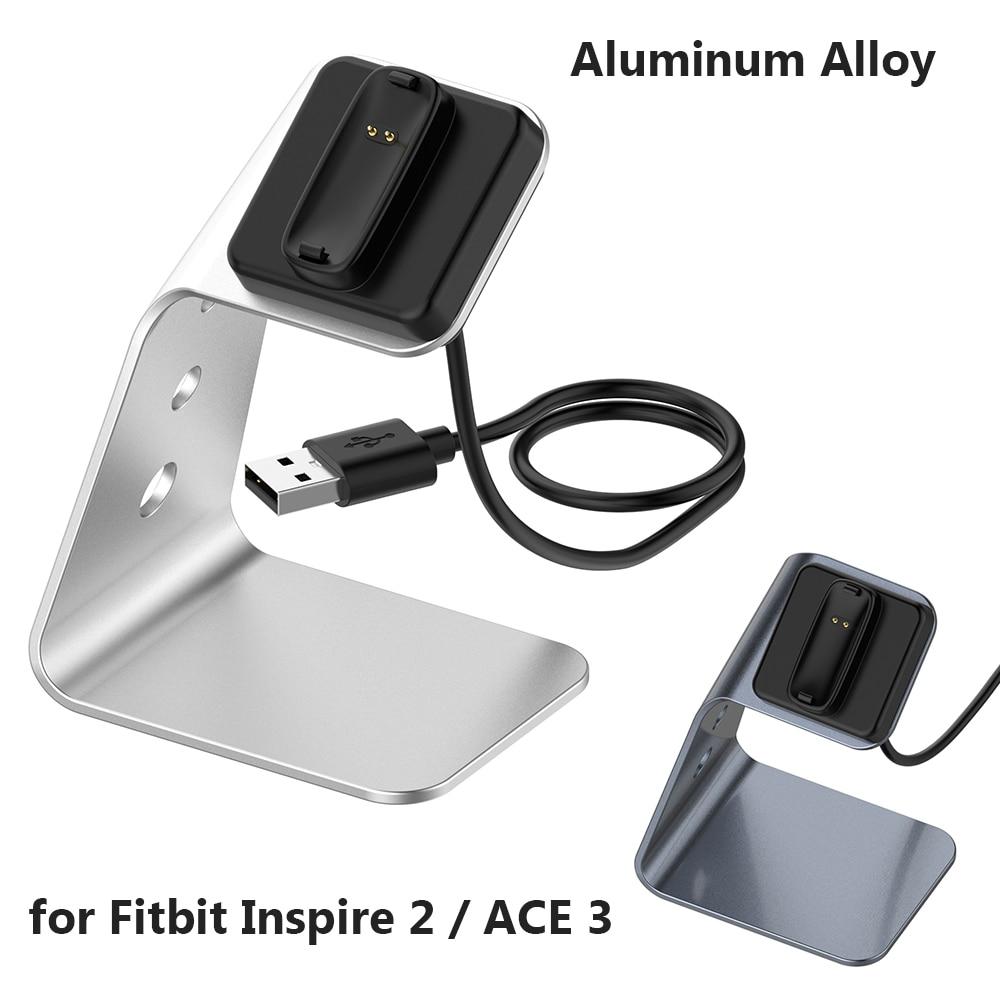 Base de carga para Fitbit Inspire 2, Cable de alimentación rápida USB...