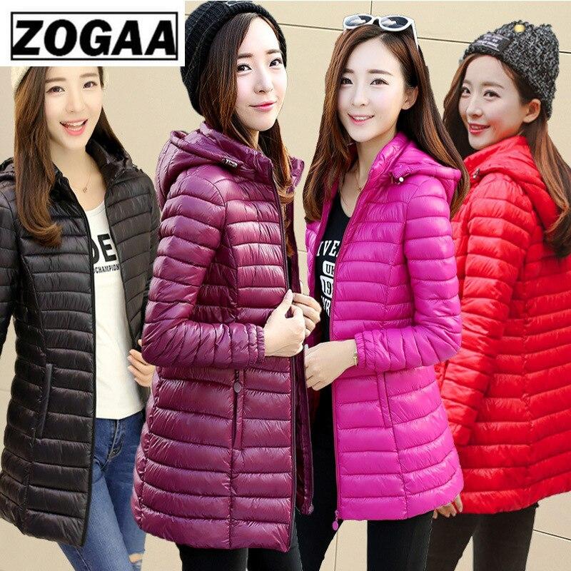 Abrigo de algodón 2019, Chaqueta de algodón de sección larga de moda de Corea para mujer, sección delgada de talla grande, almohadilla de algodón delgada de Invierno para mujer
