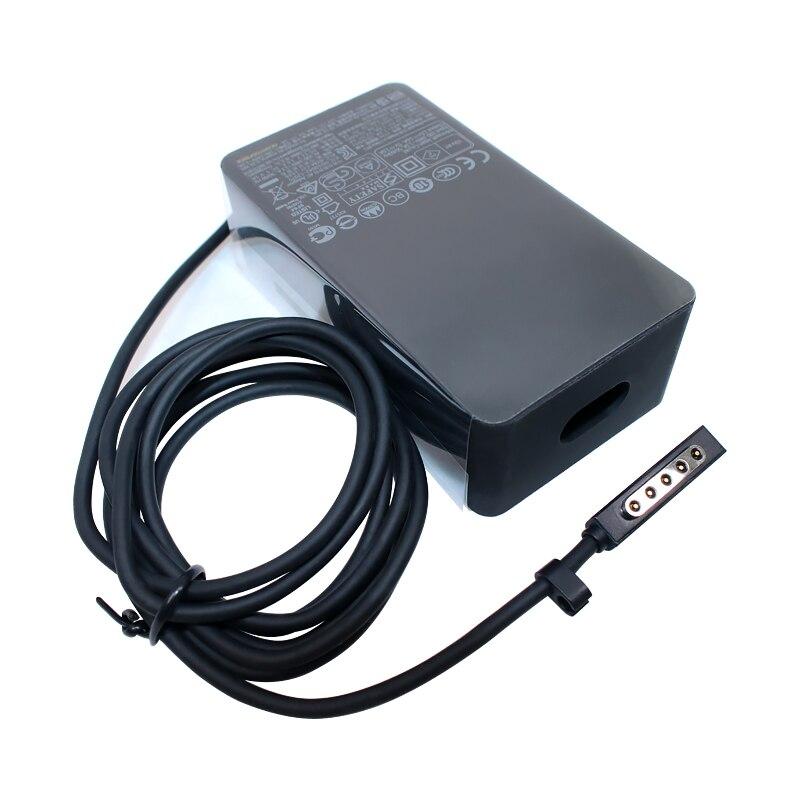 شاحن الكمبيوتر اللوحي 12V 3.6A 48W AC 1536 ، قابس الولايات المتحدة أو الاتحاد الأوروبي ، شاحن بطارية لجهاز Microsoft Surface Pro 1 2 1514 1601