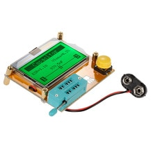 Multifunzionale Lcd Display Esr Transistor Tester Resistenza Induttore Condensatore Scr Mos Triodo Tubo Newst