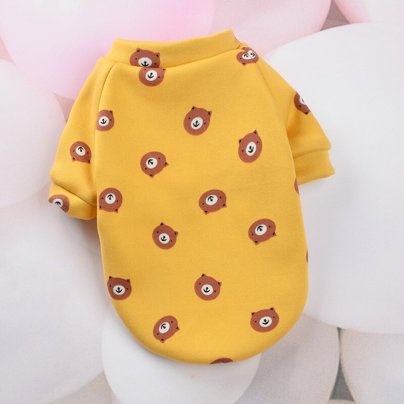 Cute Coat Warm Dog Clothes for Small Medium Dogs Cats Pet Outfits Puppy Cat Clothing Pullover Jacket