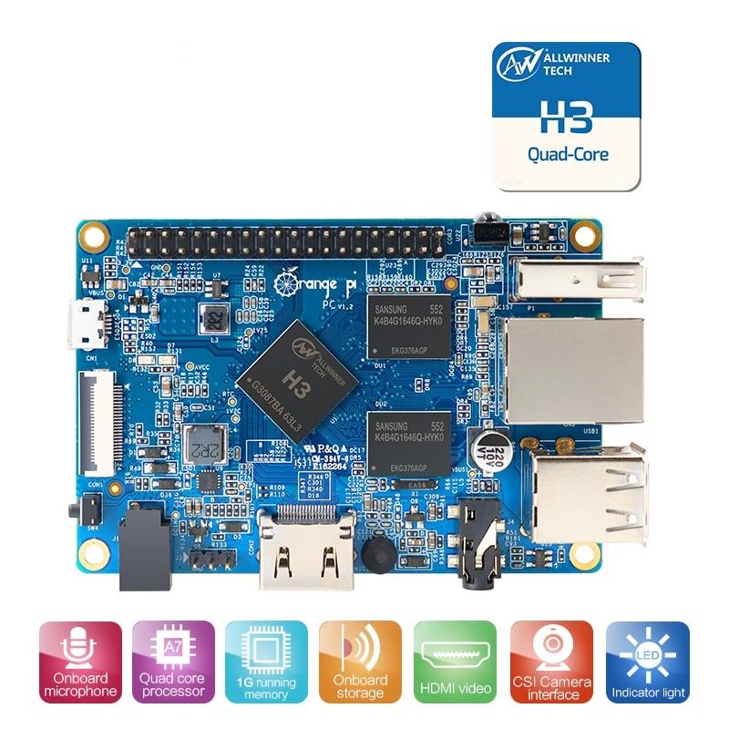PC 1GB H3 Quad-Core Support Android,Ubuntu,Debian Image Single Board Computer