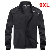 oversized jackets men casual jacket solid color big size coat men 2021 fashion spring male jacket coat plus size 8xl