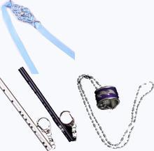 Mo Dao Zu Shi porte-clés Cosplay prop accessoires Wei Wu Xian flûte fantôme Chen qing Ling anneau collier bandeau accessoires cadeau