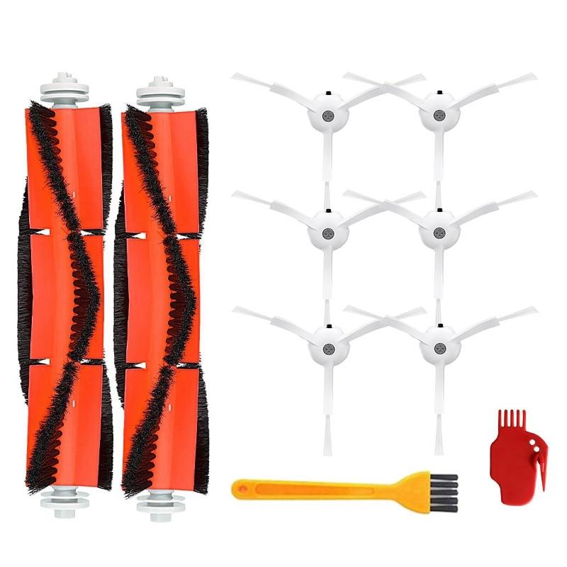 Accessories Kits for Xiaomi Roborock S50 S51 E25 S5 E20 C10 Roborock Robot Vacuum Parts Side Brush Roll Brush