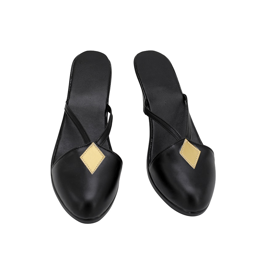 Medea fgo fate grand order sapatos cosplay sandálias de salto alto preto sapatos personalizados