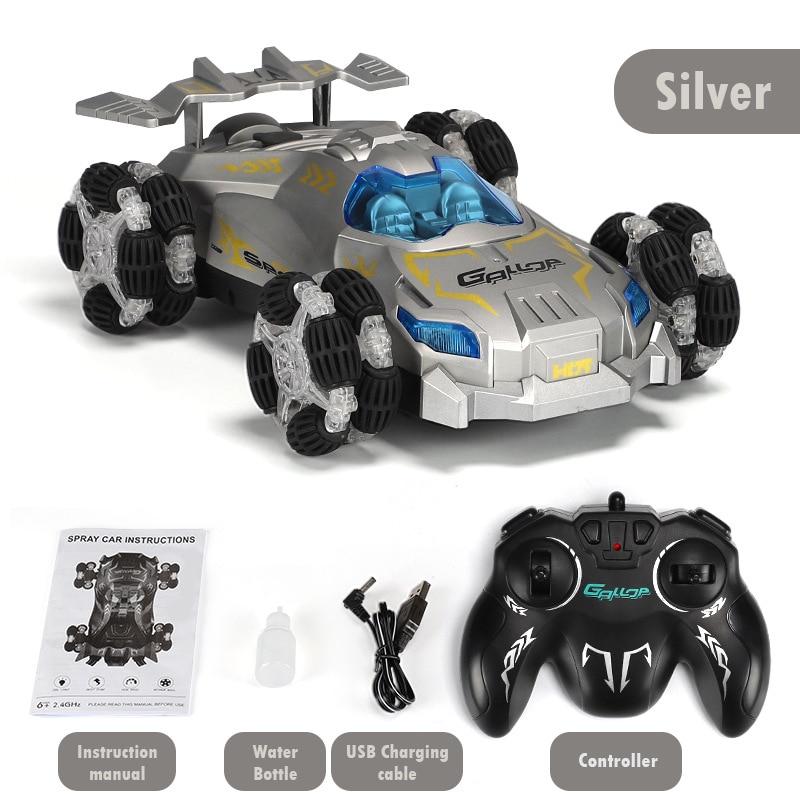 2021 NEW Drift Spray Racing Car Toy High-Speed Music Light 2.4g Remote Control 360-Degree Rotation B