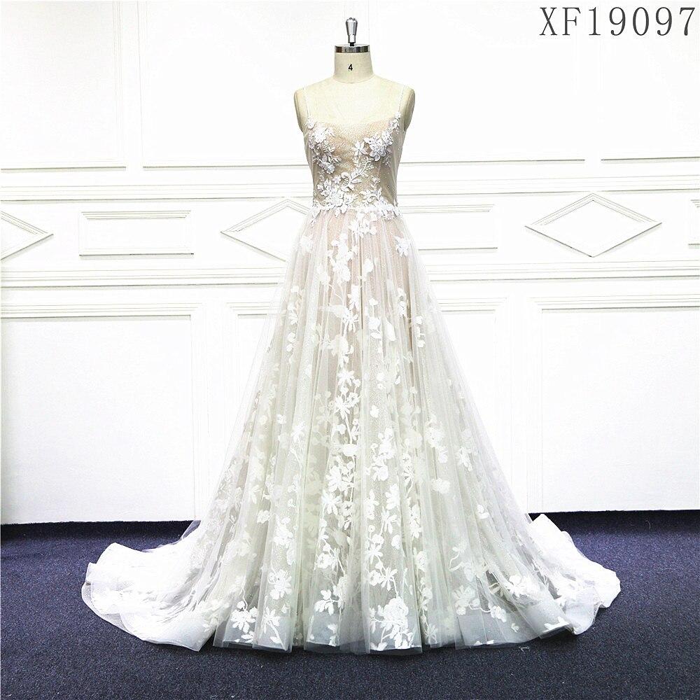 Beautybride-فستان زفاف راقٍ ، فستان زفاف فاخر ، فستان زفاف مخصص XF19097